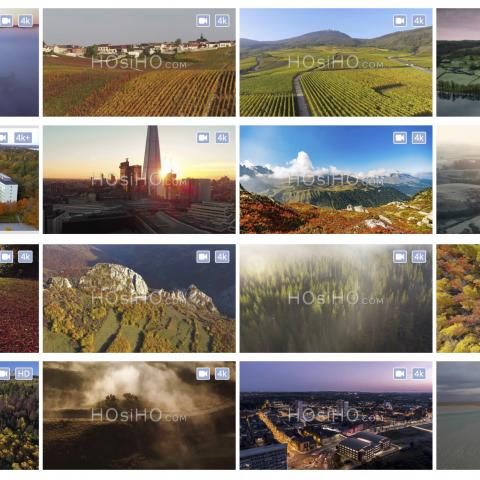 HOsiHO's Newsletter Special Autumn From Above- October 2020