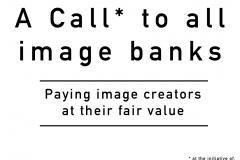 A call to all stock image banks